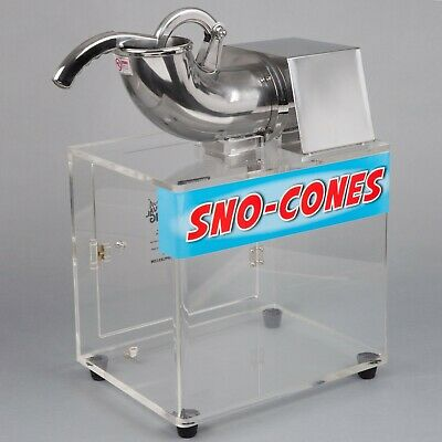 Carnival King Commercial Concession Stand Snow Cone Ice Machine - 120v