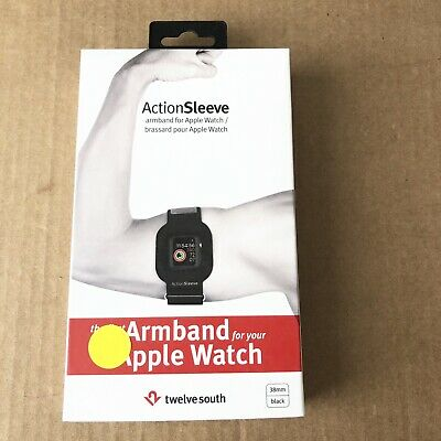 Twelve South Adjustable Sports Action Armband 38mm - Black  Black Adjustable Sports Armband