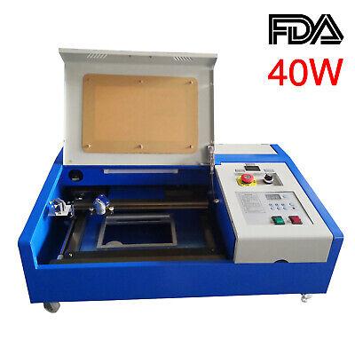 New 12x8 40w Co2 Laser Engraving Machine Small Cutting Machine Fda