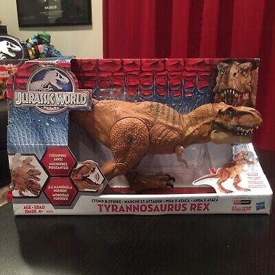 Jurassic World Park Stomp and Strike Tyrannosaurus T- Rex Action Figure Toy NIB