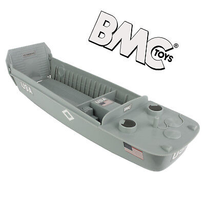 BMC WW2 Higgins Boat LCVP Landing Craft 1:32 Scale Vehicle for Plastic Army Men