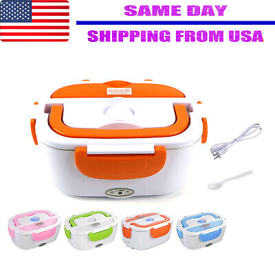 40W 1.5 L Portable  Electric Lunch Box Food Storage Container Heater  (Lunch Box Containers)