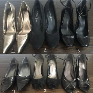6 x shoes size 7/8