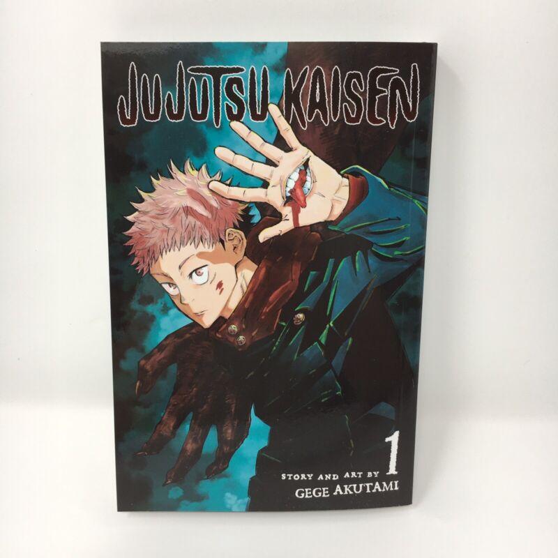 Jujutsu Kaisen Vol. 1 English Manga By Gege Akutami Brand New
