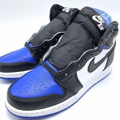 Nike Air Jordan 1 Retro High OG GS Youth shoes Game Royal Toe 575441-041 sz 4-7