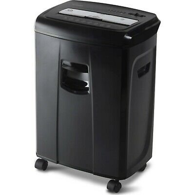 Aurora 12-sheet Crosscut Paper And Credit Shredder With Pullout Basket