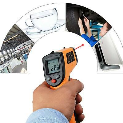 Digital Laser Ir Infrared Tempmeter Temperature Gun Thermometer Nocontact Gadget