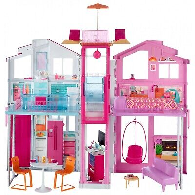 Barbie 3 Story Townhouse DLY32