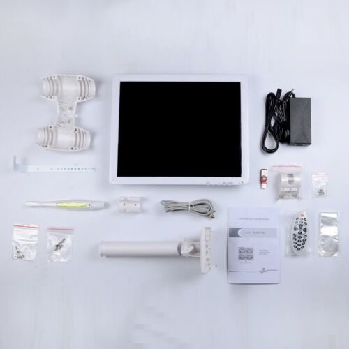 Dental Intra Oral Camera SONY CCD High Resolution with 17 Inch LCD AIO Monitor