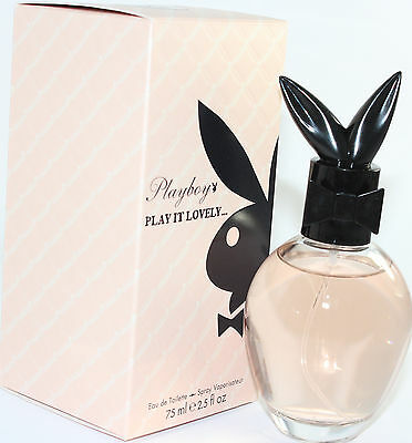 PLAY IT LOVELY 2.5 OZ EDT SPRAY FOR WOMEN NEW IN A BOX BY PLAY BOY