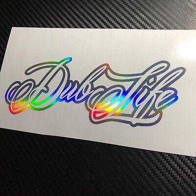 OIL SLICK Dub Life Car Sticker Decal VDUB Beetle Bus Bug