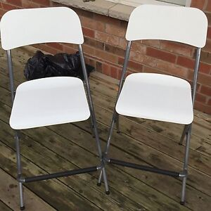 Two Ikea chairs both for 30.00 Cambridge Kitchener Area image 1