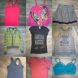 Xs/small clothing lot (17 items)