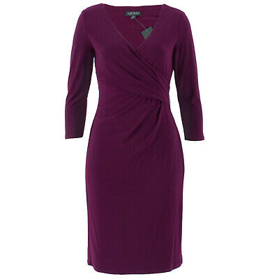 LAUREN by Ralph Lauren Damen Kleid Cleora Passion Plum / 4 (36) / Etuikleid