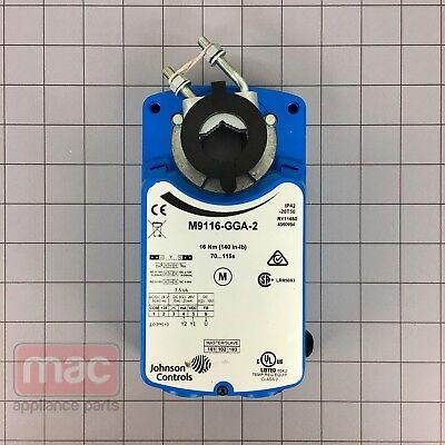 Johnson Controls M9116-gga-2 Electric Non-spring-return Actuator