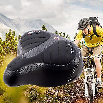 Wide Big Bum Bicycle Cycling Road Bike Mountain Bike Seat Saddle Extra Comfort