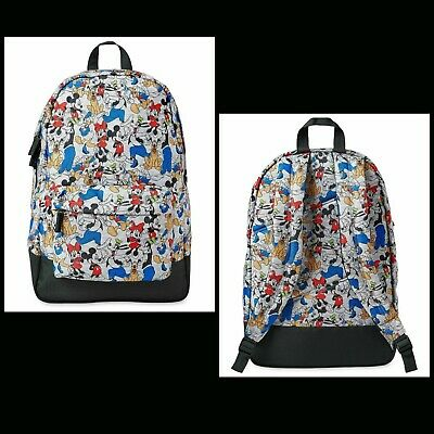 Mickey Mouse Backpack For Adults (NWT DISNEY STORE BACKPACK  MICKEY & FRIENDS  18