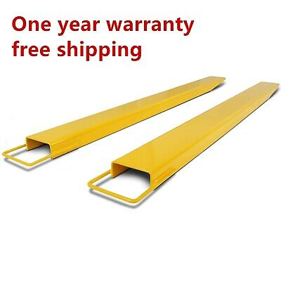 84 Pallet Fork Extensions Forklifts Lift Truck Slide On Steel