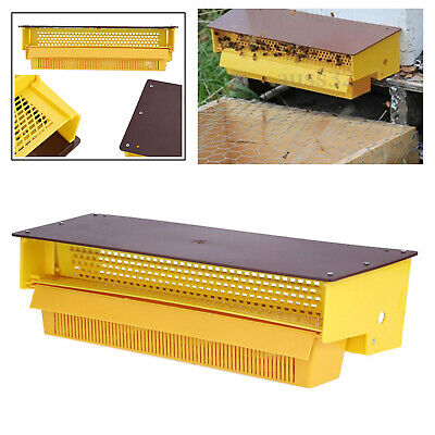 Plastic Pollen Trap Yellow Removable Pollen Tray Collector Easy Install