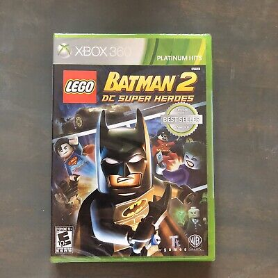 LEGO Batman 2: DC Super Heroes Microsoft Xbox 360 Factory Sealed