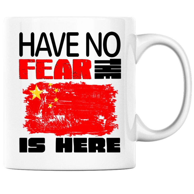 Have No Fear the Chinese is Here Funny Coffee Mug China Heritage Pride
