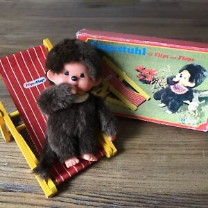 Monchhichi and Deck Chair with Box