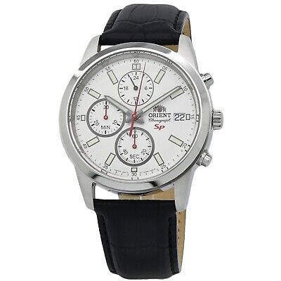 Orient SP Chronograph White Dial Men