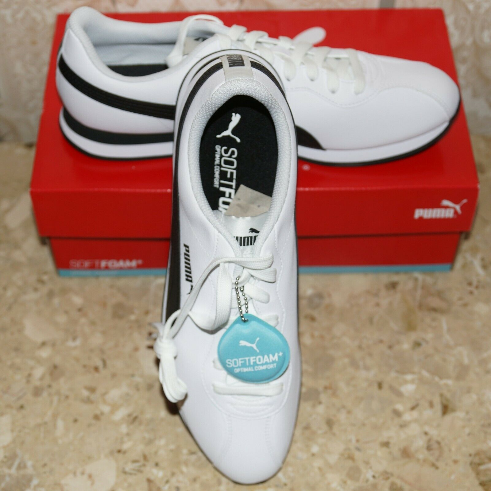 turin ii men s sneakers shoe softfoam