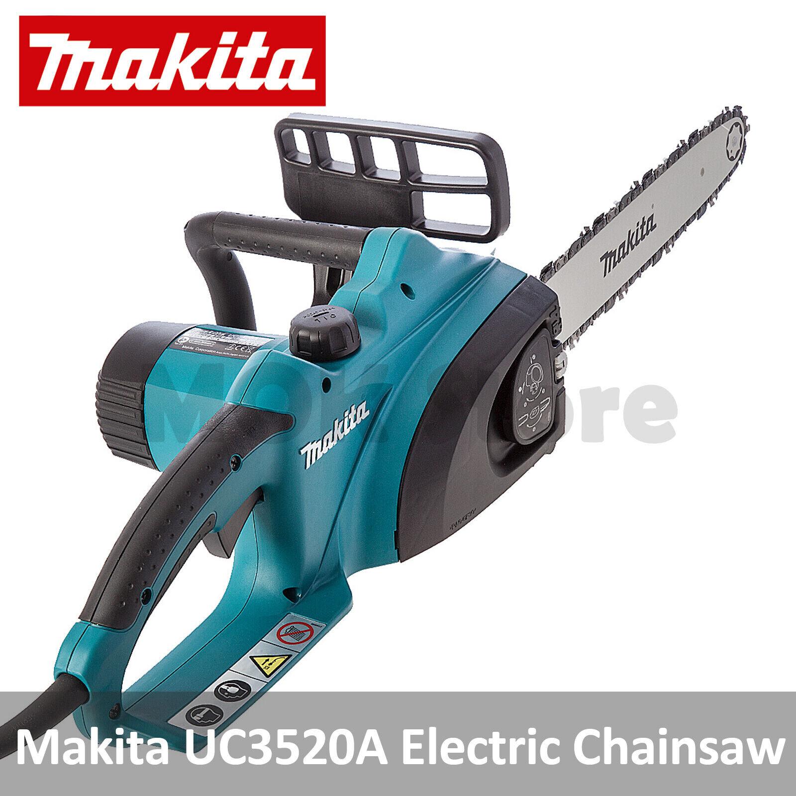 """Makita UC3520A 14""""/35cm Electric Chainsaw 1800W Powertool 22"""