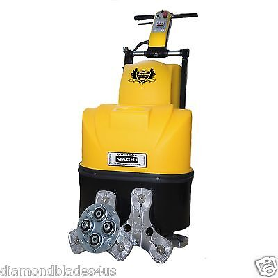 Concrete Grinder Polishing Machine 20 Floor Surface Prep 5hp Brand New