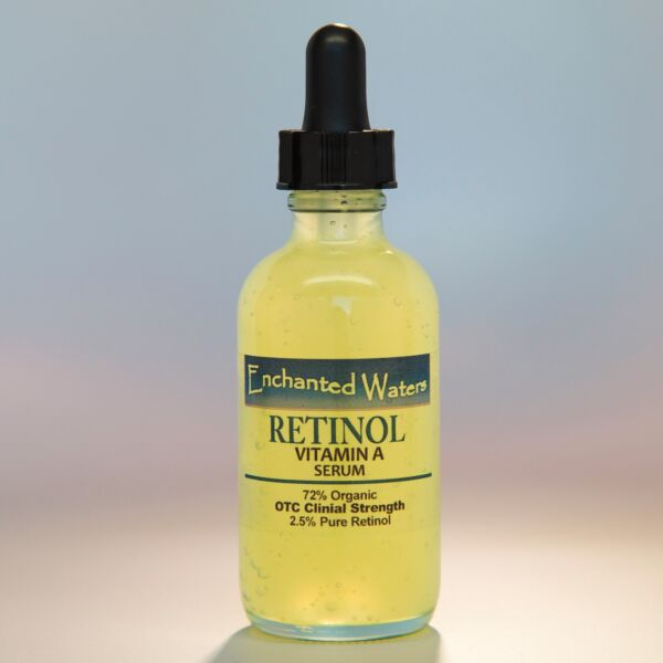 PURE RETINOL VITAMIN A 2.5% + HYALURONIC ACID HA - RETINOL WRINKLE CREAM / SERUM