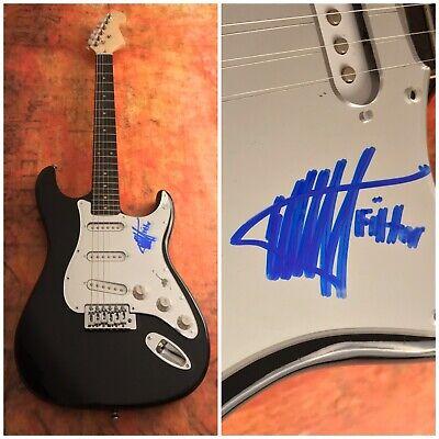 GFA Filtro Título de Registro Richard Patricio Firmado Eléctrico Guitarra COA