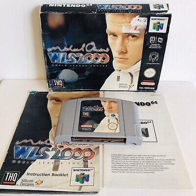 MICHAEL OWEN WLS 2000 - N64 / Nintendo 64