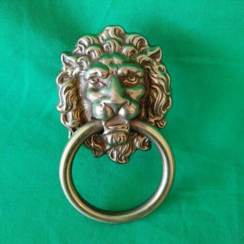 Brass Lion Head Door Knockers  QTY 3