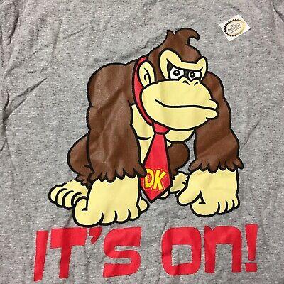 boys youth its on like donkey kong nintendo super mario brothers t shirt 10-18 Its On Like Donkey Kong T-shirt