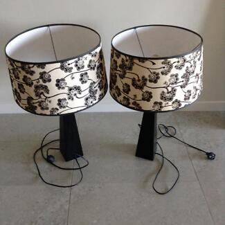 Set of 2 lamps Brookwater Ipswich City Preview