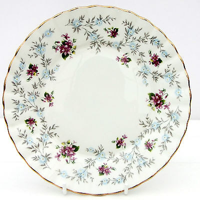 Vintage Royal Stafford Enchanting Bone China Floral Tea Plate