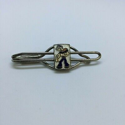 New 1930s Mens Fashion Ties Vintage Popeye The Sailor Man Money Tie Clip Collectible Enameled Circa 1930s $64.92 AT vintagedancer.com