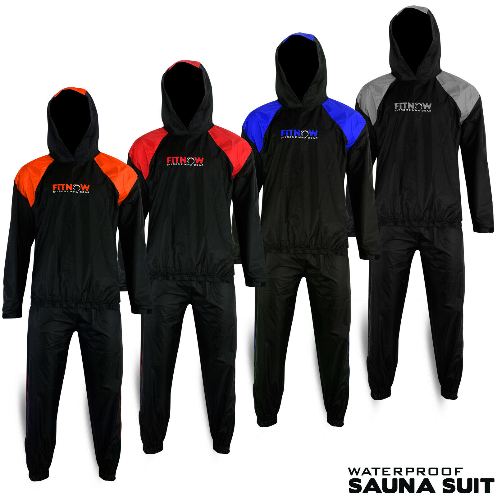 PVC Sauna Suit Schwitzanzug Saunaanzug Fitness Abnehmen Sport Schweißanzug QM
