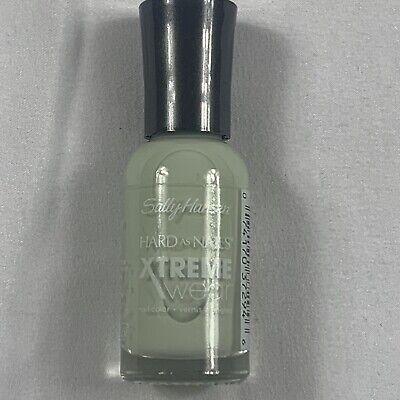 sally hansen hard as nails xtreme wear nail polish mint sorbet new