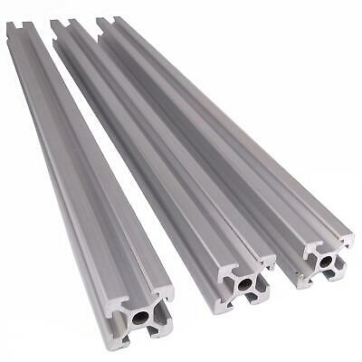3pcs Aluminum T-slot Extruded Framing Profile Metric 2020 Length 300mm