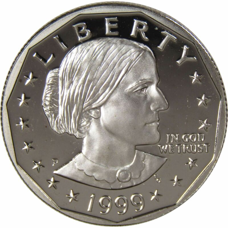 1999 P $1 Susan B Anthony SBA Dollar Coin Choice Proof