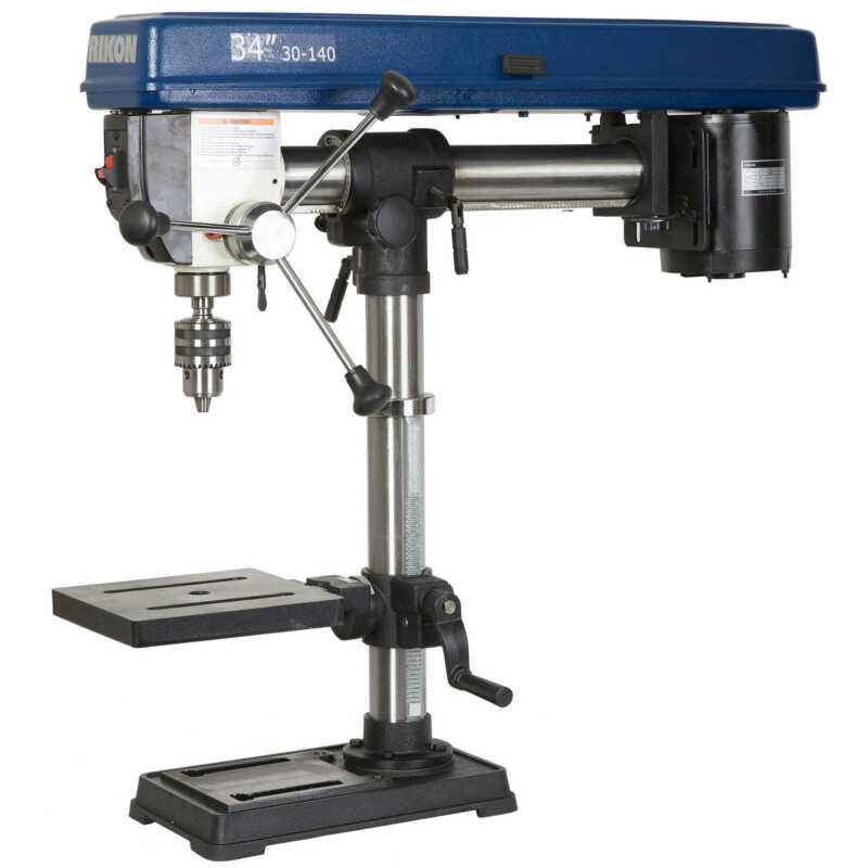 Rikon 34in. 1/3HP Radial Benchtop Drill Press