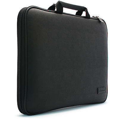 "Microsoft Surface Pro 5 12.3"" Laptop Case Sleeve Bag Synthetic Leather Black"