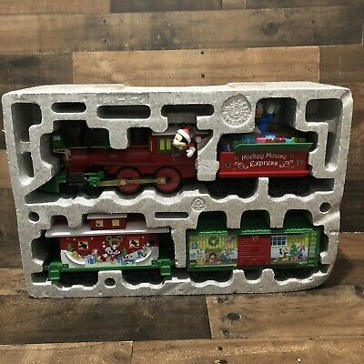 Lionel Trains Mickey Mouse Express Disney Ready to Play Christmas Train Set