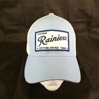 b98bd989b8514 Pre-owned Tacoma Rainiers Mesh Trucker Hat Cap Light Blue Minor League  Baseball H1 + Free shipping