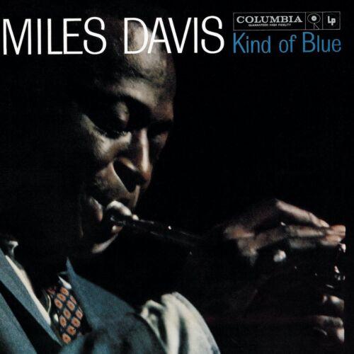 "Reproduction ""Miles Davis - Kind Of Blue"" Album Cover Poster, Size: 16"" x 16"""