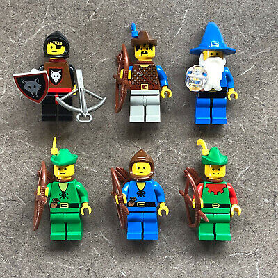 Lego Castle DARK FORESTMAN WOLFPACK MINIFIGURES Knights Wizard Majisto Forest