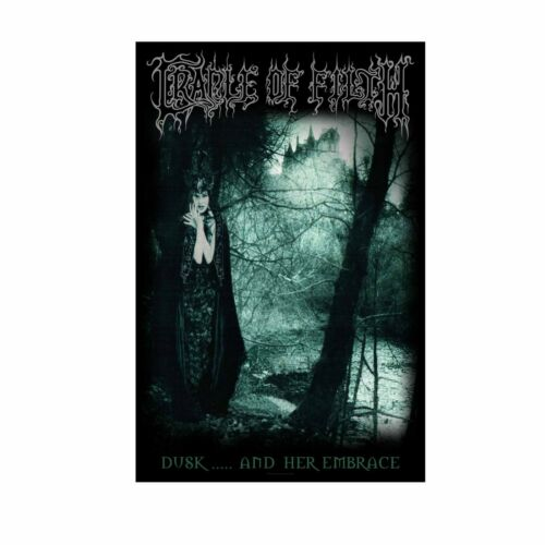 Cradle Of Filth Dusk And Her Embrace Tapestry Fabric Cloth Poster Flag Banner