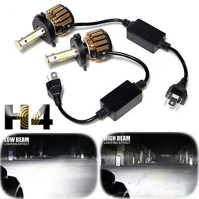 H4 Hb2 9003 4 Side Led Headlight Conversion Kit 980W 147000Lm High Low Beam Bulb